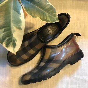 Burberry Rain Booties
